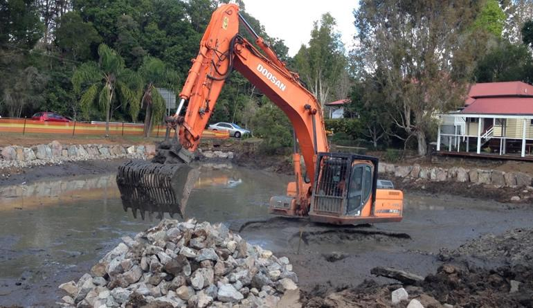 Earthmoving services south east qld