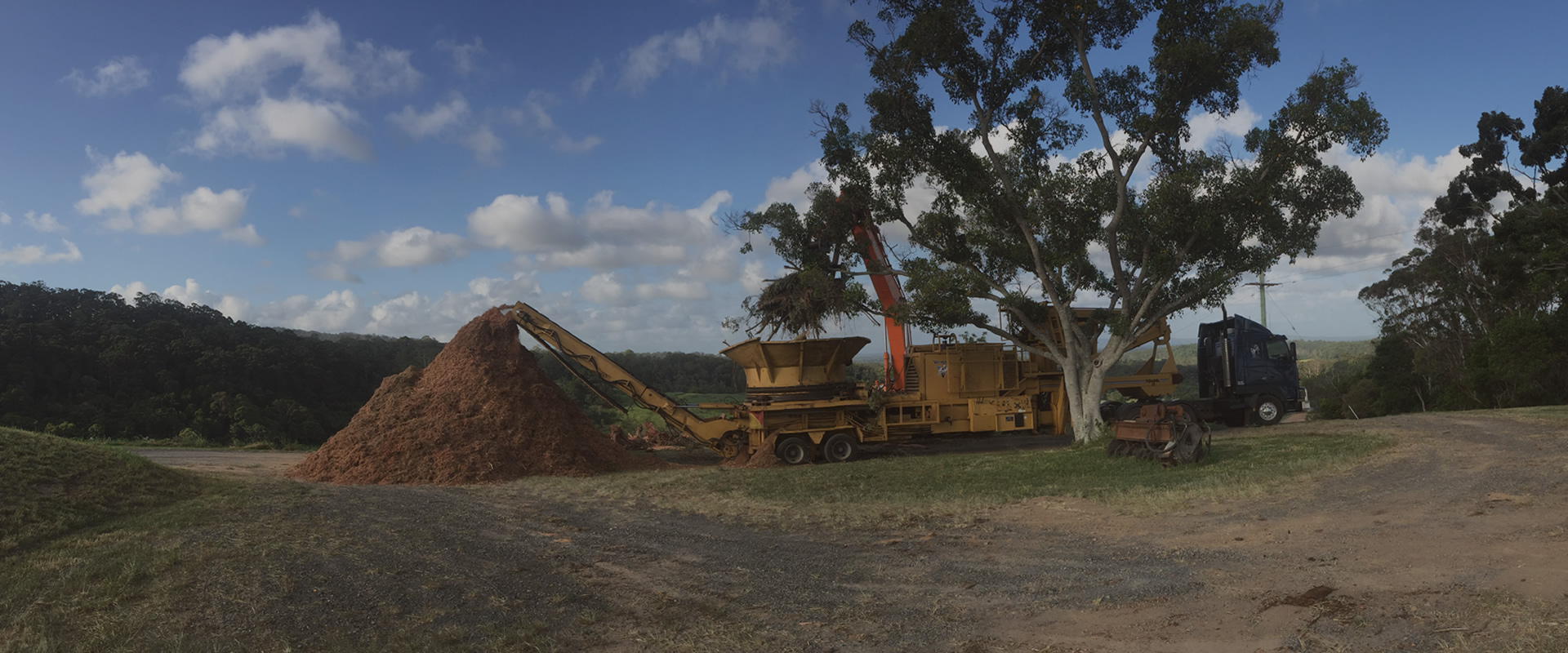 Land clearing services Sunshine Coast and South East QLD