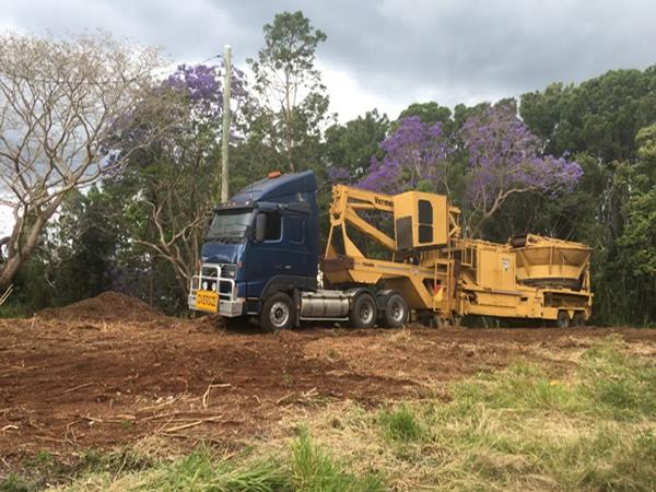 Land Clearing equipment Sunshine Coast