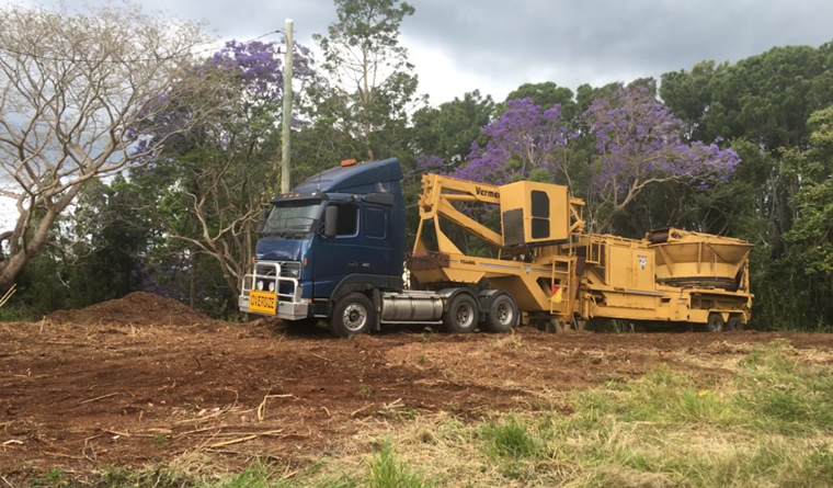 Land clearing services sunshine coast hinterland